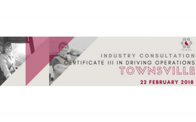 REGISTER NOW: Certificate III in Driving Operations Employer Consultation Session