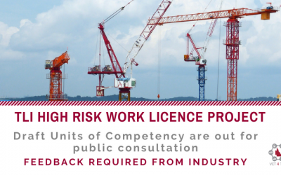 FEEDBACK NEEDED: TLI High Risk Work Licence Project