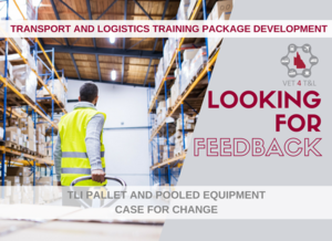 FEEDBACK NEEDED: TLI Pallet and Pooled Equipment Case for Change