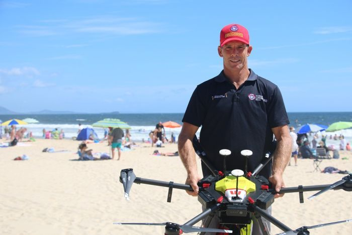 The challenges of using drones by QLD Surf Life Savers