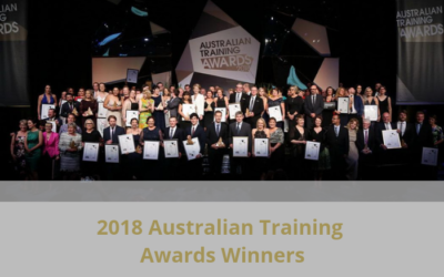 2018 Australian Training Awards Winners Announced