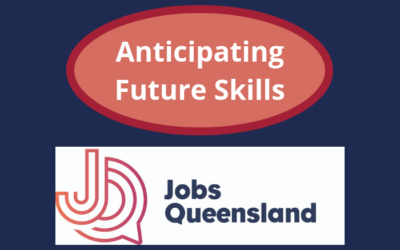 Jobs Queensland – Anticipating Future Skills Project