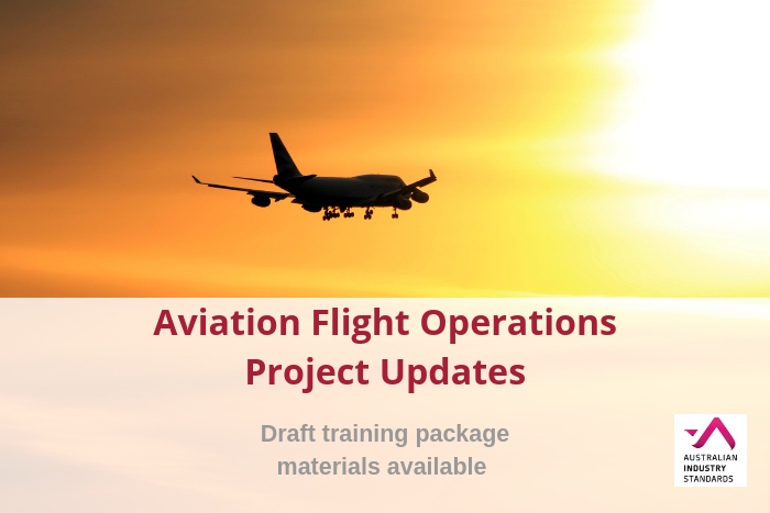 Aviation Training Package Project Update – Rescue Crewperson – Feedback requested