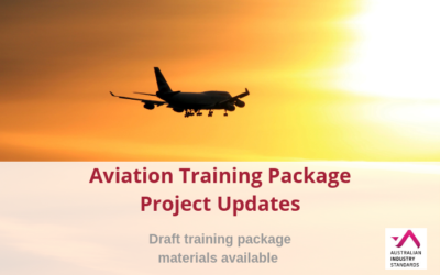 Aviation Training Package Project Update – Aviation and Maritime Transport Security