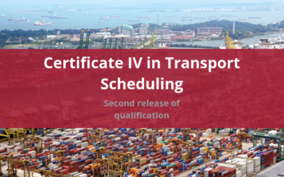 Second release of Cert IV in Transport Scheduling