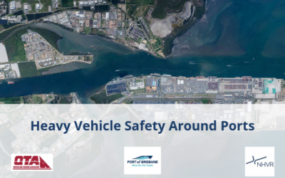 New fatigue technology trial launched to improve heavy vehicle safety around Port of Brisbane
