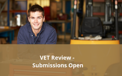 Vocational Education and Training Review – Public Submissions now open
