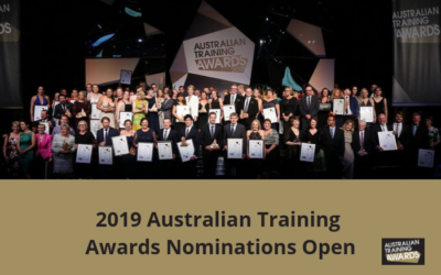 Australian Training Awards 2019 – Nominations Open