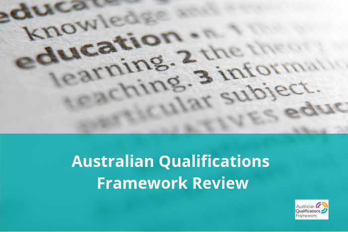 Australian Qualifications Framework Review