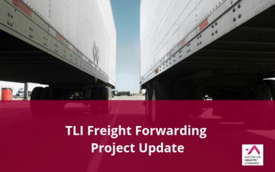 TLI Freight Forwarding Project – Draft Materials Available for Comment