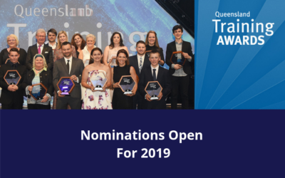 QUEENSLAND TRAINING AWARDS NOMINATIONS OPEN
