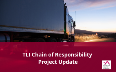 TLI Chain of Responsibility Project Update – Draft Materials Available for Comment