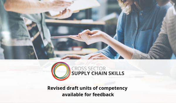 Cross Sector Supply Chain Skills Project – New consultation open