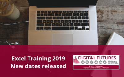 DigiT&L Futures Excel Training Program – New dates released