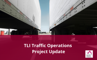 TLI Traffic Operations Project Update – Draft Materials Available for Comment