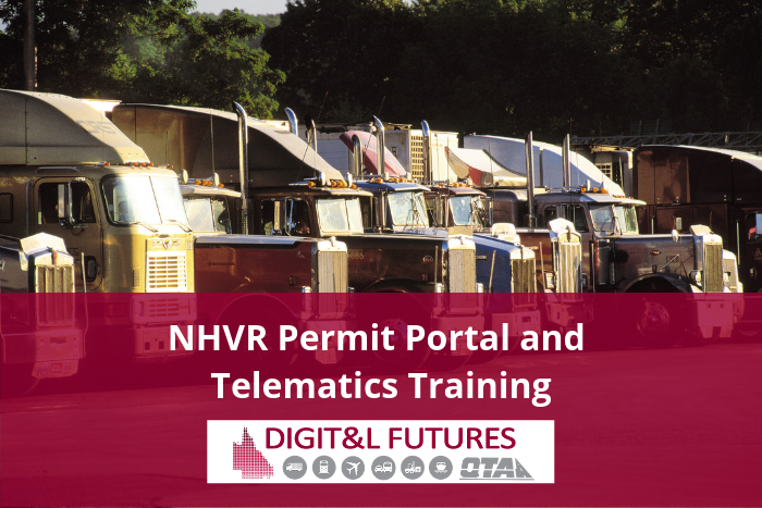NHVR Permit Portal and Telematics Training