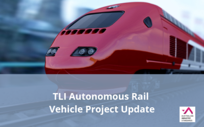 TLI Autonomous Rail Vehicle Project Update – Draft Materials Available for Comment