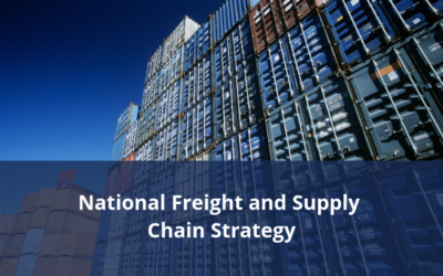 National Freight and Supply Chain Strategy – National Action Plan Contribution