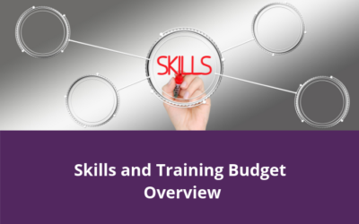 Skills and Training Budget Overview – 2019-20
