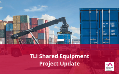 TLI Shared Equipment – Draft materials available for feedback