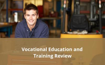 VET Review – Final report released