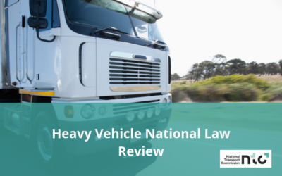 Heavy Vehicle National Law Review – Have your say