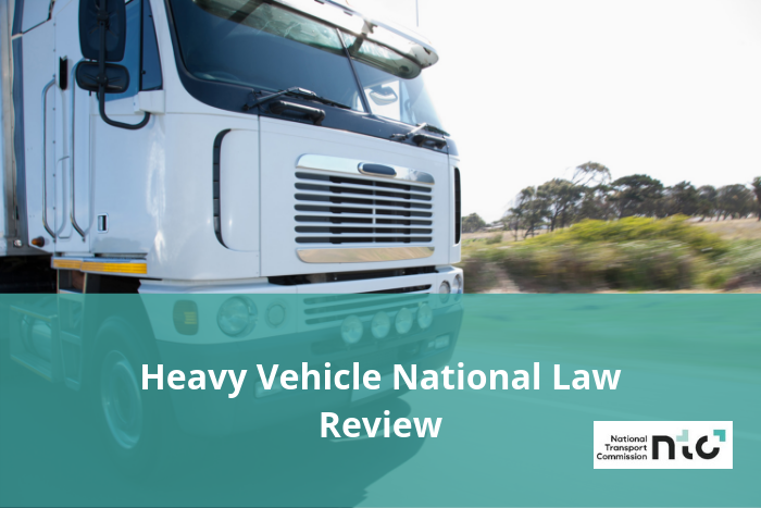 Heavy Vehicle National Law Review