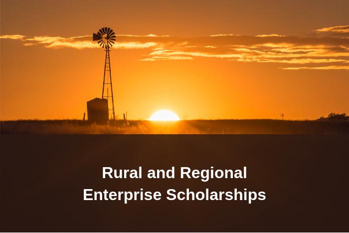 Rural and Regional Enterprise Scholarship Program
