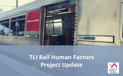 TLI Rail Human Factors Project – Draft materials available for comment