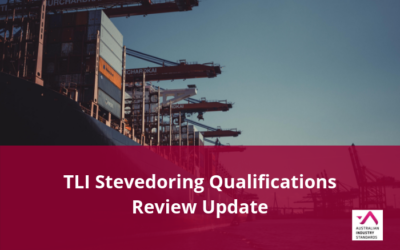 TLI Stevedoring Qualifications Review Update – Draft materials available for comment