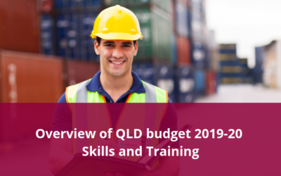 Queensland Budget 2019-20 Highlights – Skills and Training