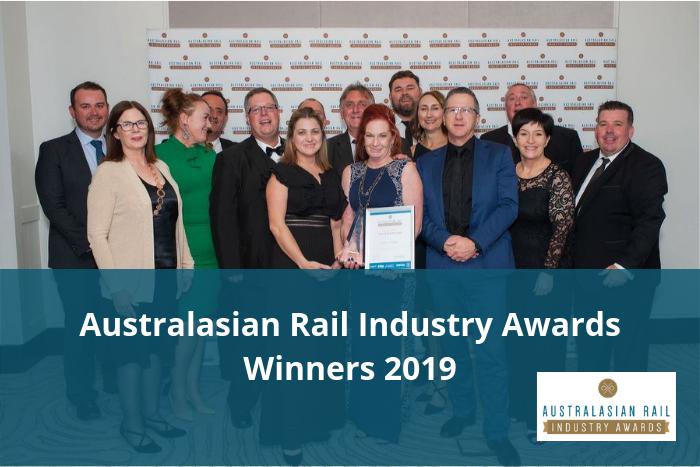 Australasian Rail Industry Awards Winners 2019