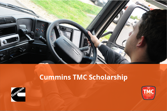 Apply or nominate for a 2019 Cummins TMC Scholarship