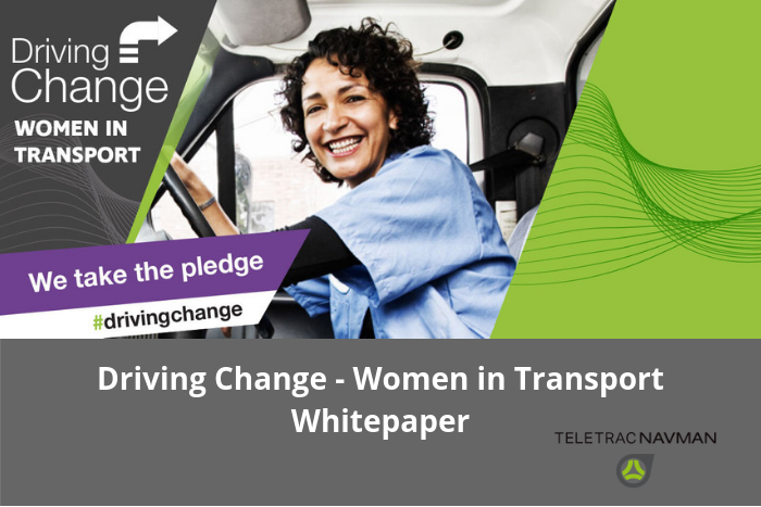 Driving Change – Women In Transport – Whitepaper released