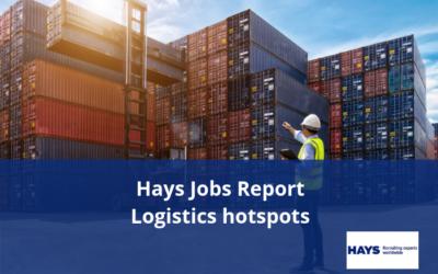 Hays Jobs Report – Logistics hotspots of skills in demand