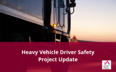 TLI Heavy Vehicle Driver Safety Project – Draft materials available for comment