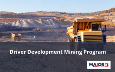 Major Training – Driver Development Mining Program