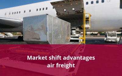 Market shift advantages air freight
