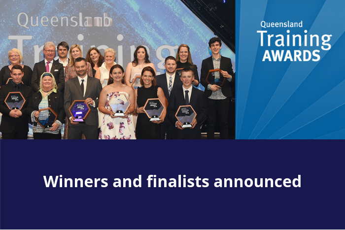 QLD Training Awards winners and finalists