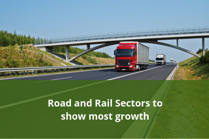 Road and rail sector growth
