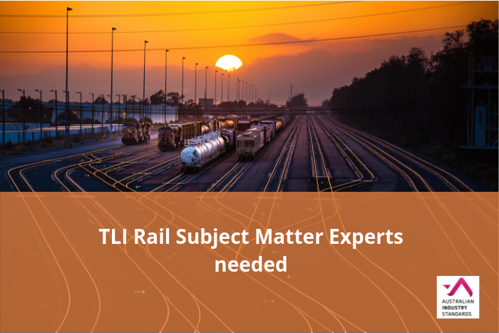 TLI Rail Subject Matter Experts needed