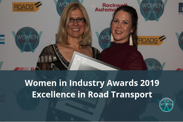 Women in Industry Awards 2019 - Excellence in Road Transport