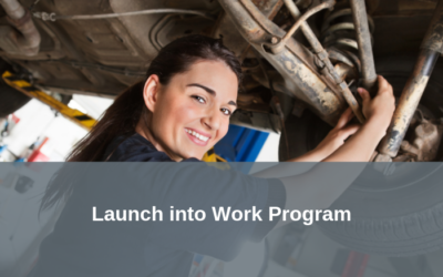 Launch into Work Program – Training, work experience, mentoring, employment