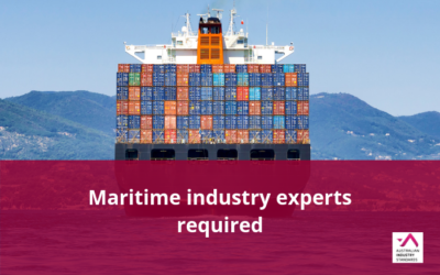 Maritime subject matter experts required to form Technical Advisory Committees