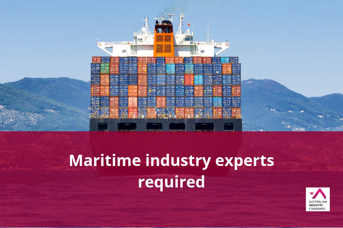 Maritime industry experts required