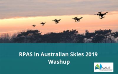 Run down of the RPAS in Australian Skies 2019 convention