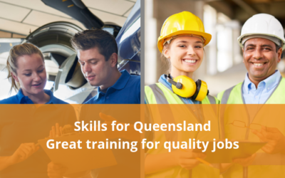Queensland Government release Skills for Queensland – Great training for quality jobs
