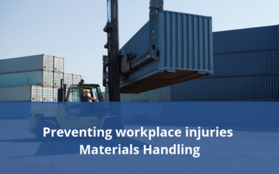 Preventing accidents and injuries in the materials handling workplace