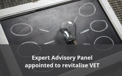 Expert advisory panel established to revitalise VET