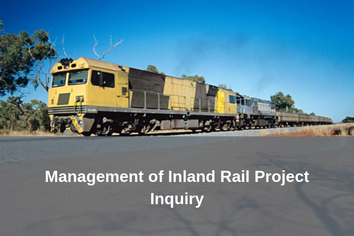 Inland Rail Project Inquiry